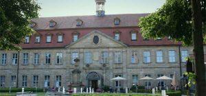 Ansicht des Alten Krankenhauses in Bamberg, heute Hotel Residenzschloss