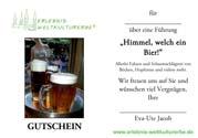Gutschein Bierführung