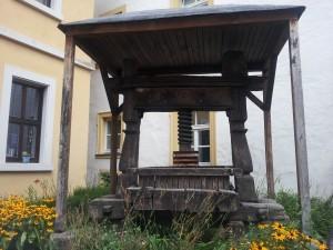 Weinpresse in Volkach