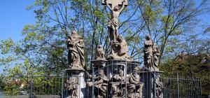 Stadführung durch Bamberg - Kreuzigungsgruppe von Gollwitzer