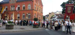 Prozession der Gärtner in Bamberg