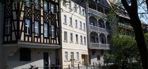 """Zunftstuben und """"getaufte"""" Bäcker - Gerberviertel in Bamberg"""