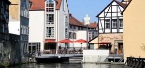 """Zunftstuben und """"getaufte"""" Bäcker - Mühlenviertel in Bamberg"""